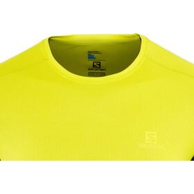 Salomon Agile T-shirt Homme, sulphur spring/night sky